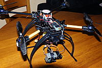 Name: DSC00927.jpg Views: 813 Size: 248.4 KB Description: ATG TT-X4-12 Reptile with BL gimbal and GoPro