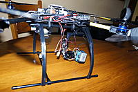 Name: DSC00930.jpg Views: 724 Size: 228.6 KB Description: ATG TT-X4-12 Reptile with BL gimbal and GoPro