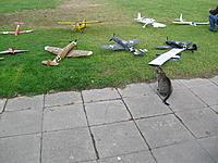 Name: AirfieldKitty.jpg Views: 45 Size: 1.22 MB Description: Messerschmitt maidens after repairing and modding