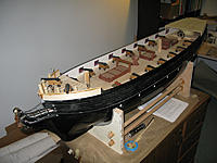 Name: tm122b.jpg Views: 81 Size: 151.3 KB Description: The Theresa Marie sporting her new forecastle and poop deck look.