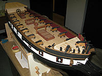 Name: tm156b.jpg Views: 80 Size: 165.9 KB Description: Waiting on painting the stern sides until I decide on doing quarter galleries or not.