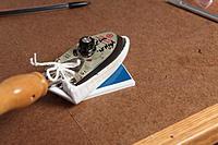 Name: IMG_1959.jpg Views: 294 Size: 140.5 KB Description: I test ironing SolarFilm onto the Dollar Tree foam board.