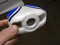 Name: gc crash 042.jpg Views: 80 Size: 60.1 KB Description: heres where the back of the spinner was rubbing into the nacelle