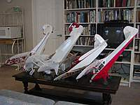 """Name: Covey 1.jpg Views: 178 Size: 48.3 KB Description: 42"""" Monocoupe 110 Special, 42"""" Bucker Youngmeister, 42"""" Culver Cadet, 54"""" Taylorcraft"""