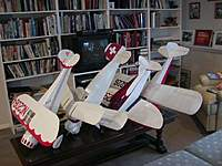 """Name: Covey 2.jpg Views: 159 Size: 49.8 KB Description: 42"""" Monocoupe 110 Special, 42"""" Bucker Youngmeister, 42"""" Culver Cadet, 54"""" Taylorcraft"""