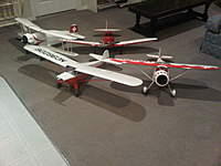 """Name: IMG00019-20101217-1931.jpg Views: 139 Size: 58.0 KB Description: 42"""" Monocoupe 110 Special, 42"""" Bucker Youngmeister, 42"""" Culver Cadet, 54"""" Taylorcraft"""
