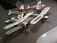 """Name: IMG00020-20101217-1931.jpg Views: 126 Size: 53.7 KB Description: 42"""" Monocoupe 110 Special, 42"""" Bucker Youngmeister, 42"""" Culver Cadet, 54"""" Taylorcraft"""
