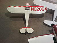 """Name: IMG00022-20101217-1932.jpg Views: 783 Size: 66.2 KB Description: 42"""" Monocoupe 110 Special  At the time of this upload, the clipwing Monocoupe has not yet been outfitted with power for flight."""