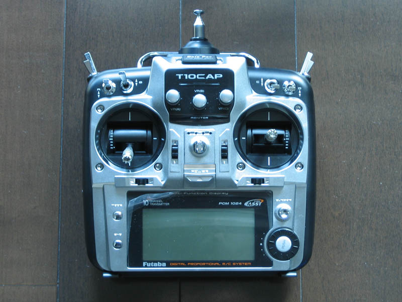 Name: Piloting-setup_01.jpg Views: 2,154 Size: 105.9 KB Description: Futaba 10CAP modded to mode 2
