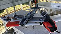 Name: Post Flight1 E-Flite Carbon T-28 Trojan 11-18-2018.jpg Views: 15 Size: 399.3 KB Description: