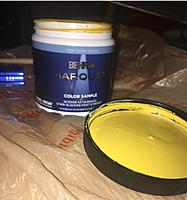 Name: pic5 paint 10-18-2021.jpg Views: 3 Size: 143.9 KB Description: The Custom Mixed Paint after the Optical Machine did its thing.