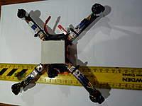 Name: P1010249.jpg Views: 109 Size: 59.8 KB Description: Frame motors ESCs and battery .