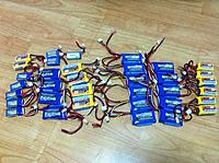 Name: lipos.jpg Views: 124 Size: 297.4 KB Description: 2S batteries on the left and 3S batteries on the right