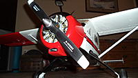 Name: The Beave with motor closeup.jpg Views: 94 Size: 406.2 KB Description: Low angle..looking good!