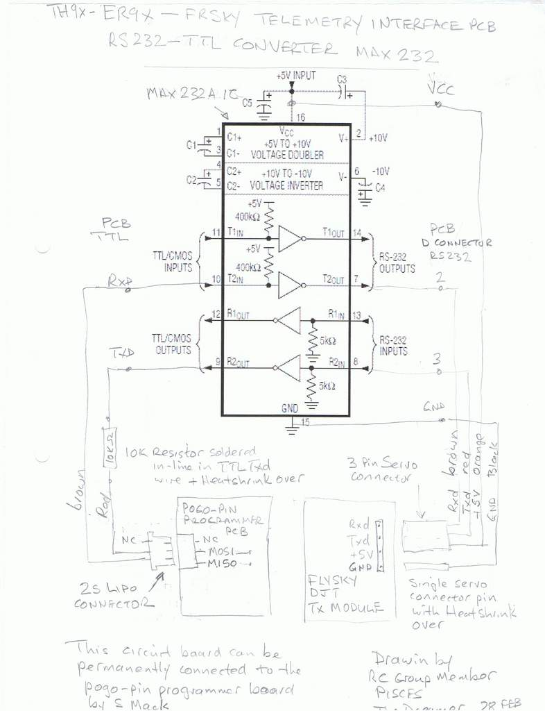 Name: MAX232 Converter PCB mod TH9x wiring diagram.jpg Views: 1,734 Size: