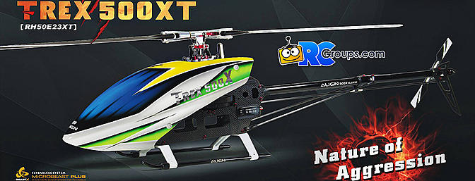 Align T-REX 500XT TOP Combo