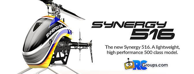The Synergy 516 Helicopter is Here!