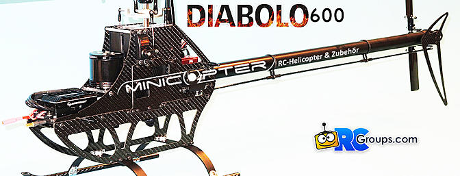 Mini-Copter Diabolo 600
