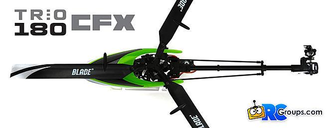 Blade Trio 180 CFX Helicopter