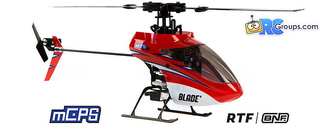 Blade mCP S RC Helicopter With SAFE Technology