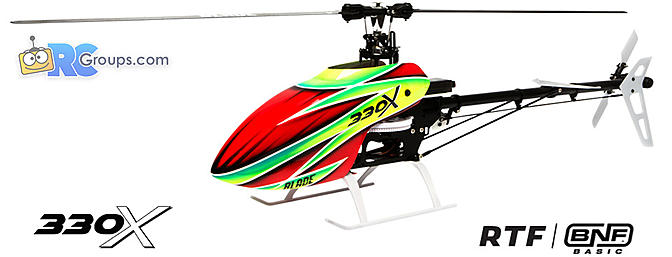 Blade 330X Helicopter