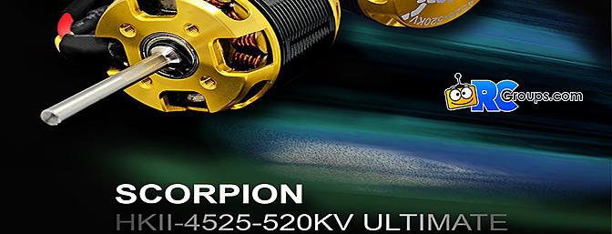 Scorpion HKII-4525-520KV ULTIMATE Motor