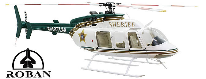 ROBAN B 407 700 Size Scale Helicopter