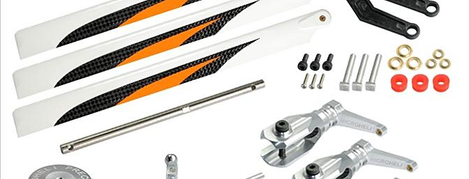 3  Bladed Orange Conversion set silver - BLADE 230 S
