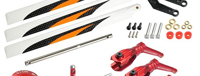 3  Bladed Orange Conversion set red - BLADE 230 S