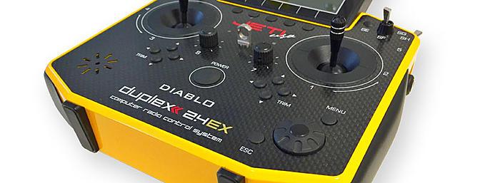 DS-14 Carbon Heli Features (Diablo Edition)
