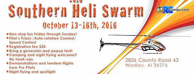 2016 Southern Heli Swarm