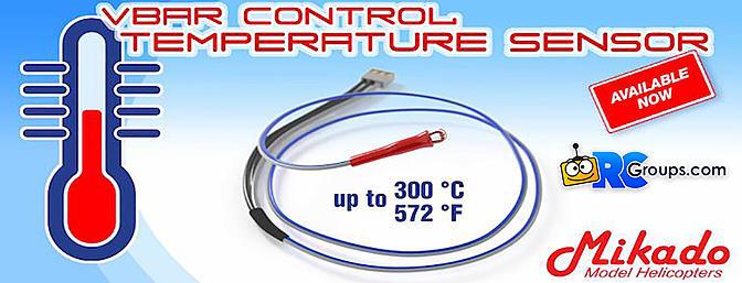 Vbar Temperature Control Sensor