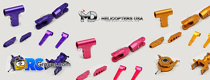 MD Helicopters Release Colored Anodized Metal Parts for MD 700