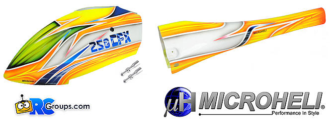 Microheli Wind Tear Fuselage - BLADE 250 CFX