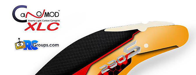 "CanoMOD Blade 230S ""Ferrari"" Canopy"