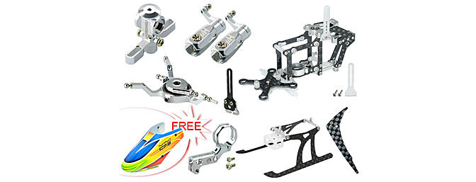 Blade Nano CP S - CNC Performance package + Free Canopy
