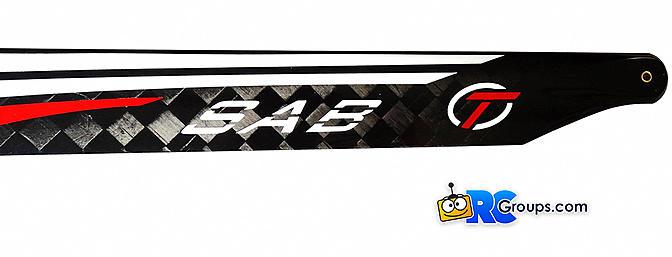 SAB - Thunderbolt T-LINE Tareq Alsaadi Edition Rotorblades