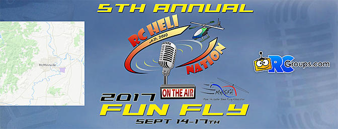 The Fifth Annual RC Heli Nation Fun Fly