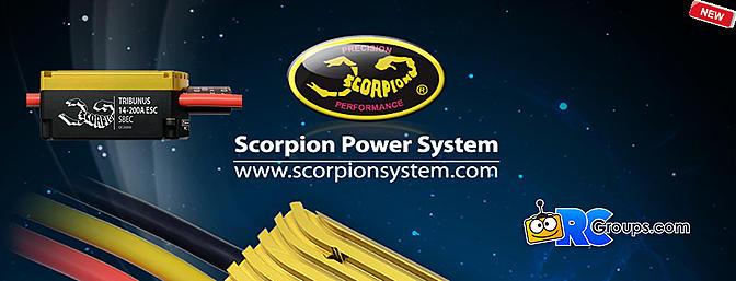 Scorpion Tribunus 06-120A/14-200A (SBEC) ESC's