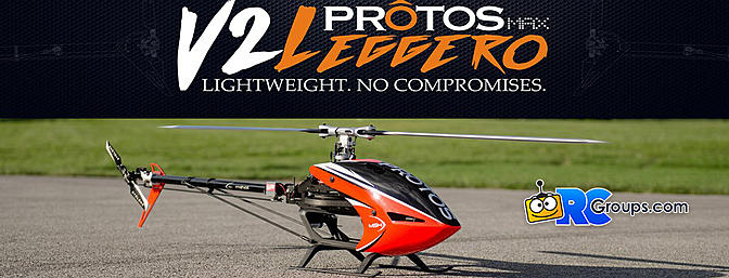 MSH Protos Max V2 Leggero Performance Helicopter
