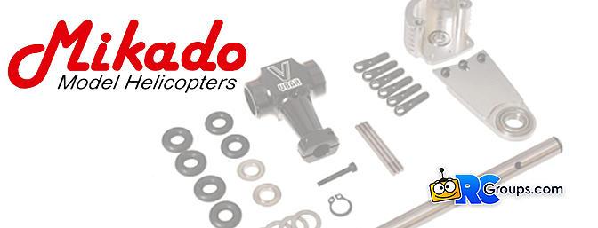 Mikado Logo 500 SE/SX Counter Bearing System Combo