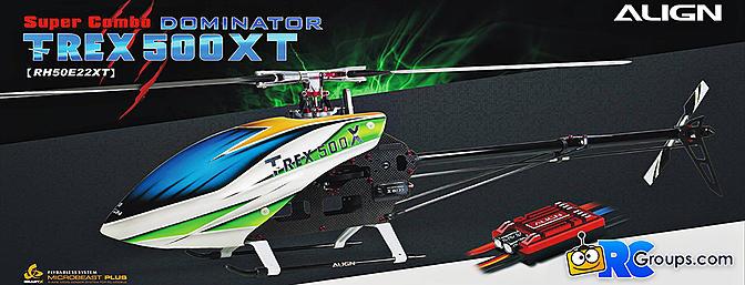 Align T-REX 500XT Dominator Super Combo