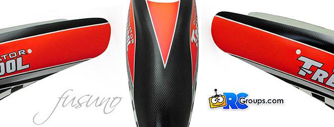 Fusuno Monte Carlo Airbrush Fiberglass Canopy for Trex 700L Dominator