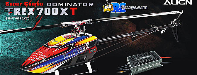 T-REX 700XT Dominator Super Combo