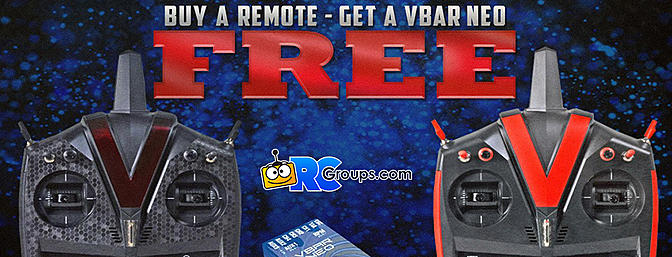FREE VBAR NEO When You Purchase A VControl Transmitter