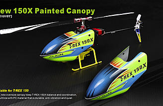 Align Trex 150X Painted Canopy
