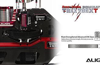 Advanced CNC main gear.