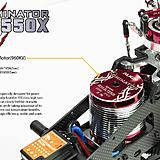 730MX motor good for 6 cell lipo.