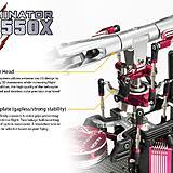 550 EFL Rotor head.