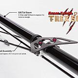 Align T-REX 500X Dominator Super Combo Tail Fin
